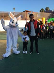 Pascua R- Gustavo Ramos e Ahijado